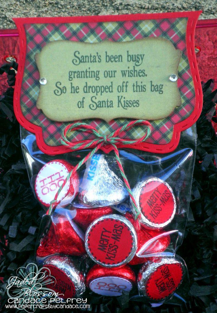 Created by Candace using Christmas Candies, Christmas Poop, Curly Label Die, Fancy Topper Die and 3x4 bag. http://jadedblossom.bigcartel.com/