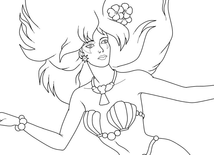 jem and the holograms coloring page