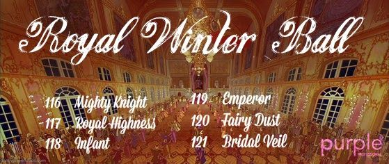 Betty Nails: Royal Winter Ball - Purple Professional