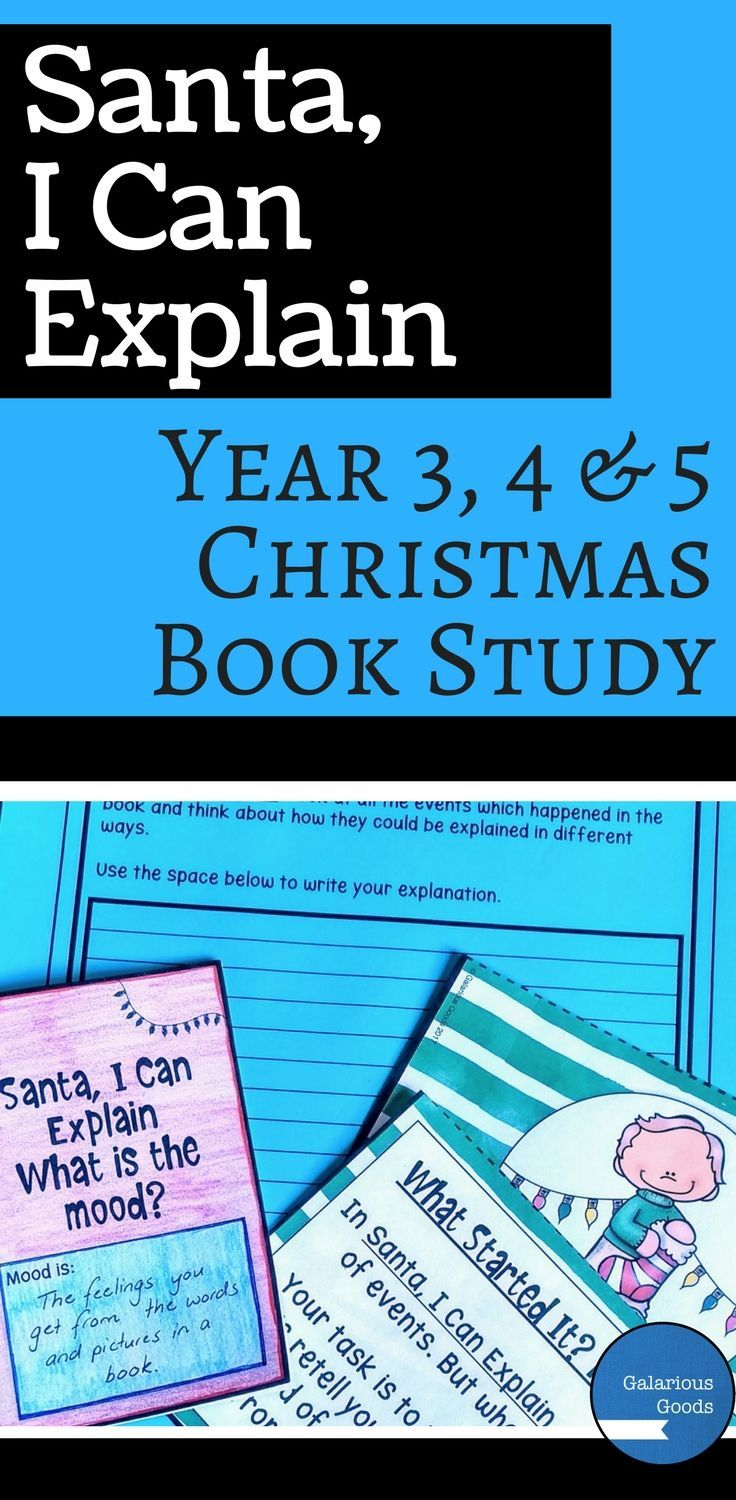 Use the hilarious Australian Christmas picture book, Santa, I Can Explain by Heath McKenzie in your middle primary classroom this Christmas. Explore comprehension, mood, cause and effect and conjunctions or allow your students to come up with their own Christmas explanations. Perfect to engage students in the last weeks of school #christmasteaching #christmasclassroom #teaching #bookstudy #picturebookstudy