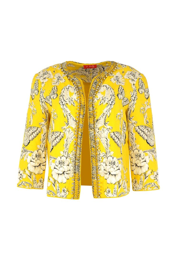 Resemble a sunburst on any rainy day with this wonderful Derhy jacket!