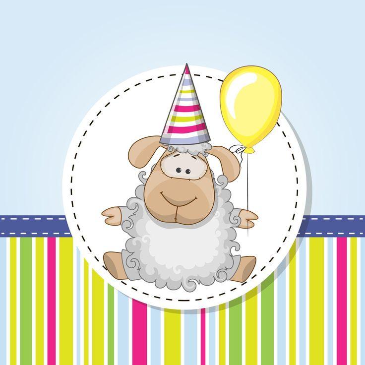 Поздравления овечки с днем рождения