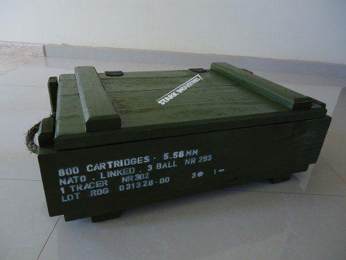 Caixa De Munição Militar