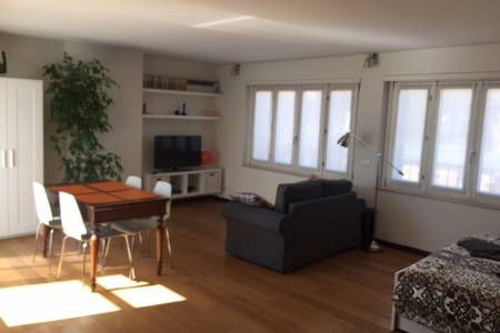 Check out this awesome listing on Airbnb: Beautiful open space with terrace - Apartments for Rent in Milano