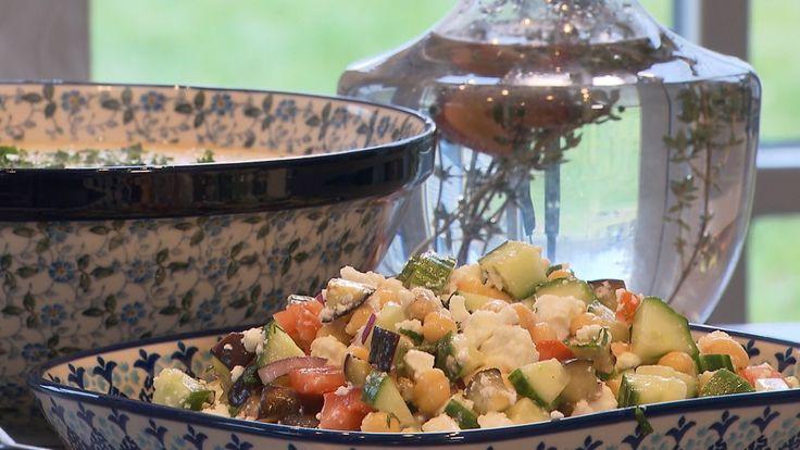 Aardappelsoepje en kikkererwtensalade (66)