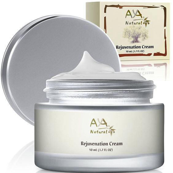 Rejuvenation Aging Cream for Face and Neck - 100% Natural Vegan Premium Deep Nourishing Skin Smoothing Creme 1.7 oz - Shea, Jojoba, Olive, Almond and Avocado Oils Blend >>> Find out more details by clicking the image : Oily SkinCare