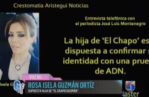 Supuesta Hija Del Chapo Guzmán Dice Que Está Dispuesta A Hacerse Prueba De ADN #Video