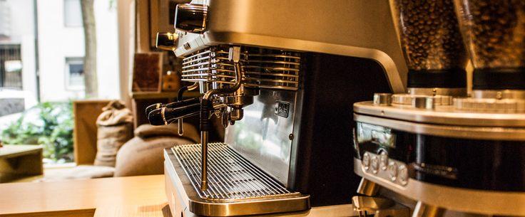Kaffeerösterei mit einer kleinen Espressobar Norden von Düsseldorf
