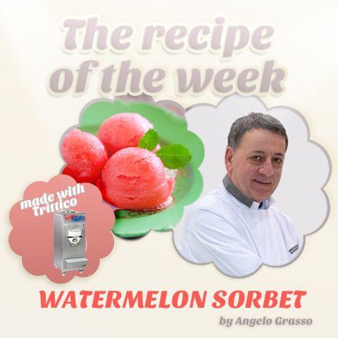 The #recipeoftheweek: #WATERMELON #SORBET, by #AngeloGrasso https://www.facebook.com/BRAVOSPA/photos/a.218288168188180.66026.160418363975161/905948072755516/?type=1&theater