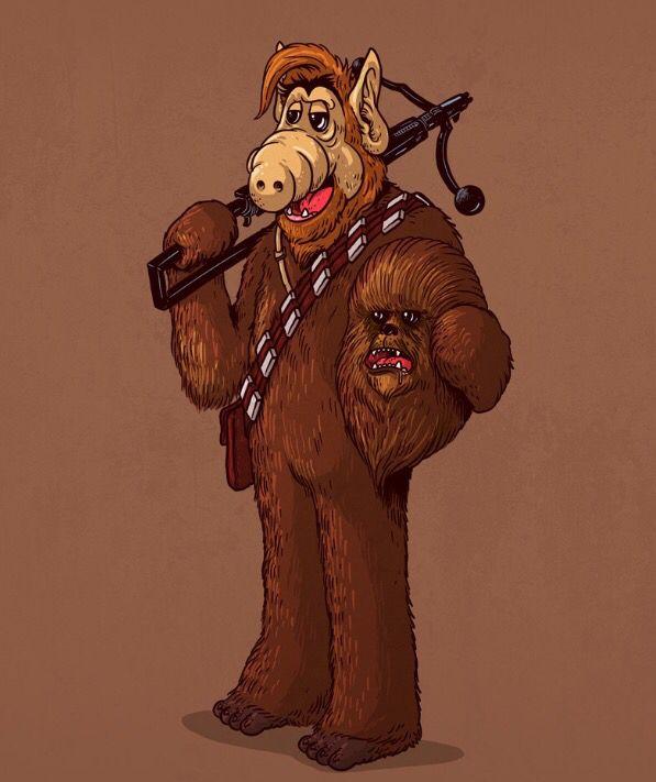 Chewbacca Unmasked by Alex Solis