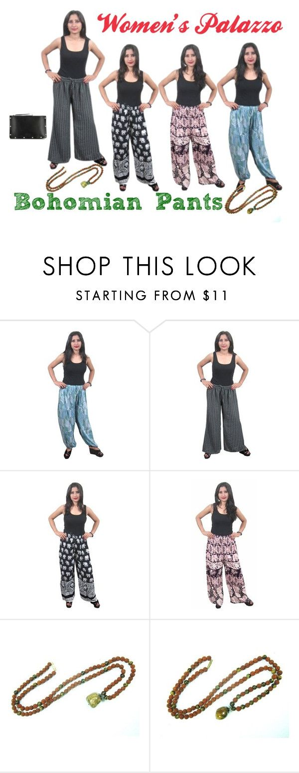 """""""Indichic Women's Bohoemian Palazzo"""" by indi-chic-1 on Polyvore featuring Marc by Marc Jacobs"""