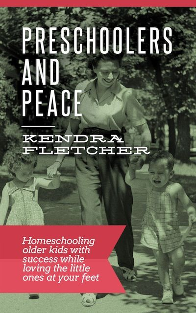 Preschoolers and Peace - an eBook to help you school with preschoolers underfoot | great resource! (affil link)