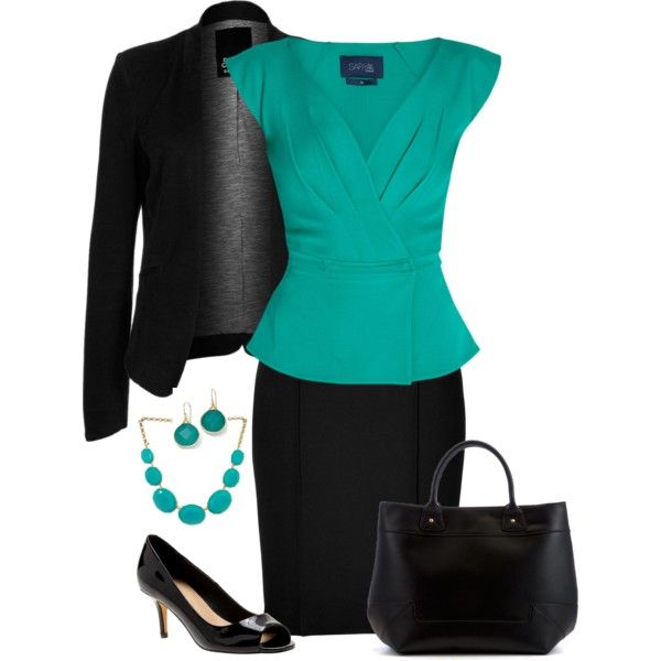 Job Interview by kp802 on Polyvore