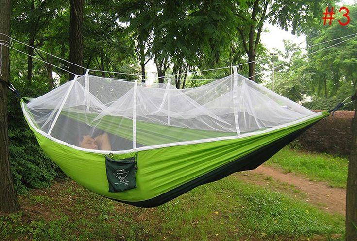 Birdsnest Backpacking Hammock With Mosquito Net Outdoor
