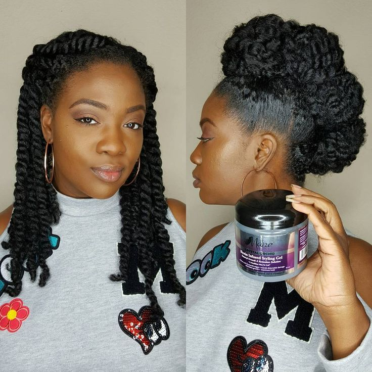"Mane choice moringa moisturizer to twist - Kamisha (@dr_kami) on Instagram: ""Thank you for the love on this style...here's the scoop! I wore two strand twists all last week and…"""
