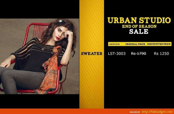 Urban Studio End of Season Sale for Winter and Spring 2014