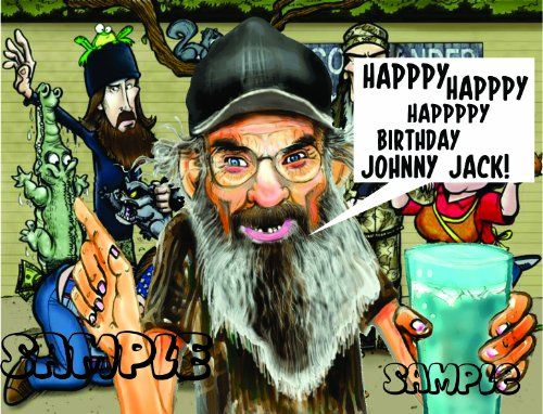 Duck Dynasty 2 Edible Image Cake Toppers Frosting Sheet ** Click image for more details.