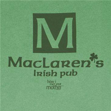Camiseta HOW I MET YOUR MOTHER MacLaren's Irish Pub R$58.65