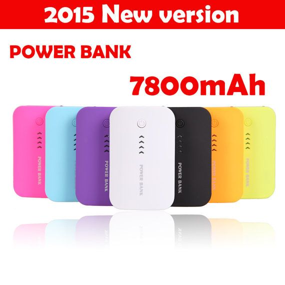 Portable Power Bank 7800mAh by DivineTouches on Etsy $15.99