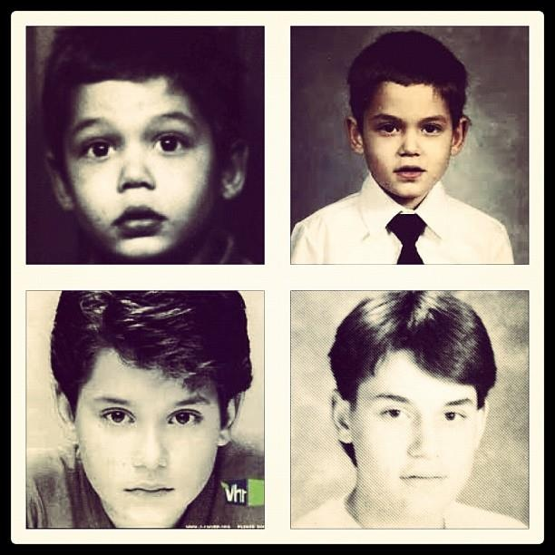 John Mayer - Our Johnny at various ages.
