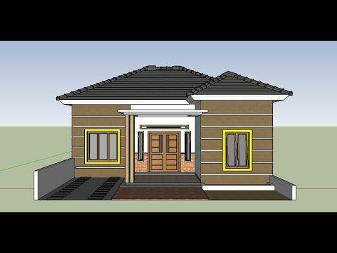 Contoh Desain Rumah Modern Minimalis 3 Kamar Dan Mushola ...