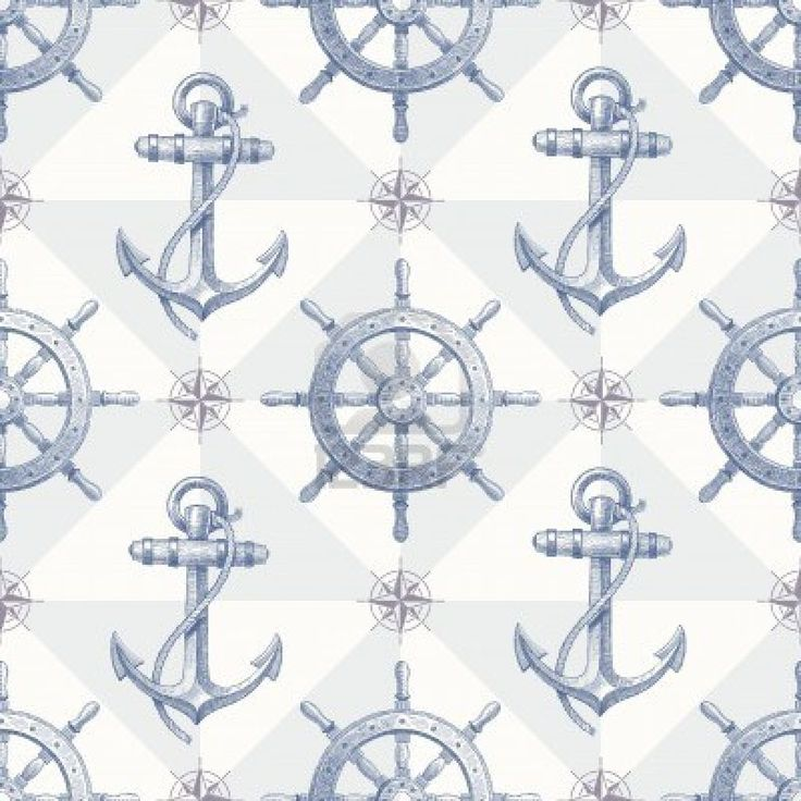 14777324-vector-seamless-nautical-background-with-hand-drawn-elements--ship-steering-wheel-and-anchor.jpg (1200×1200)