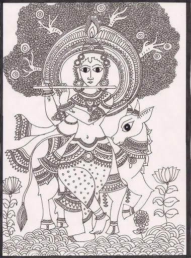 Madhubani Paintings - madhubani artist - Álbumes web de Picasa