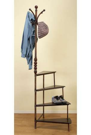 Metropole Coat Umbrella Hat Stand With Shoe Rack