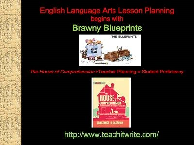 27 best Middle School ELA E-Book The House of Comprehension images - fresh blueprint education books