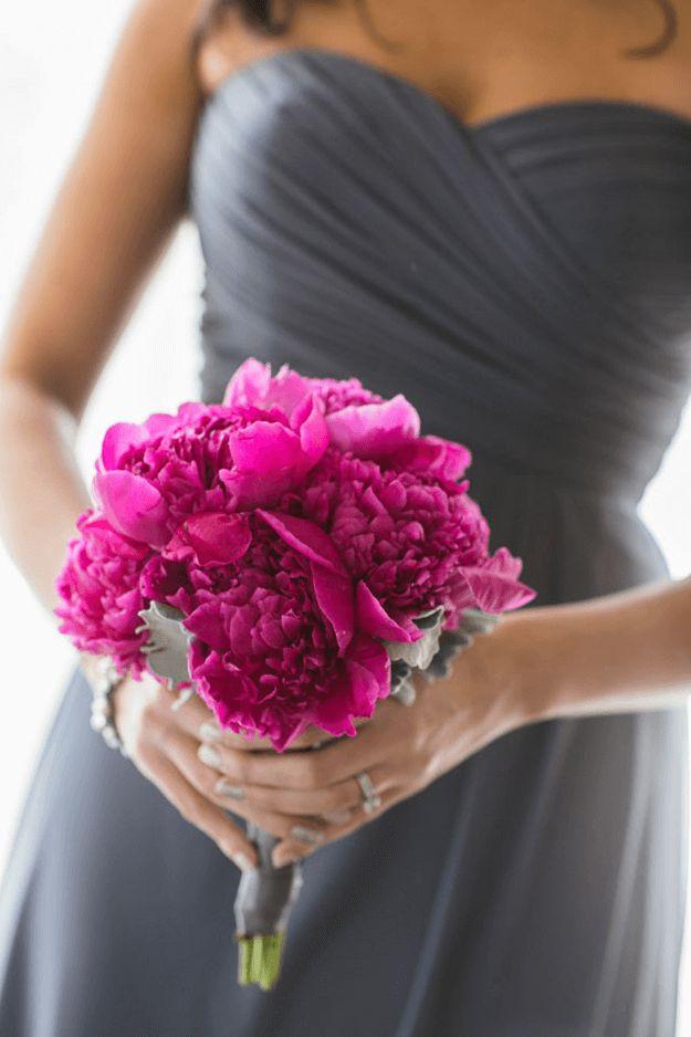 Romantic Industrial Pink Wedding Colors Raspberry