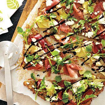 Mediterranean Pizza Recipe - Fresh Juice