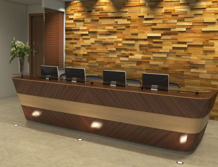 Mosaic commercial wood paneling