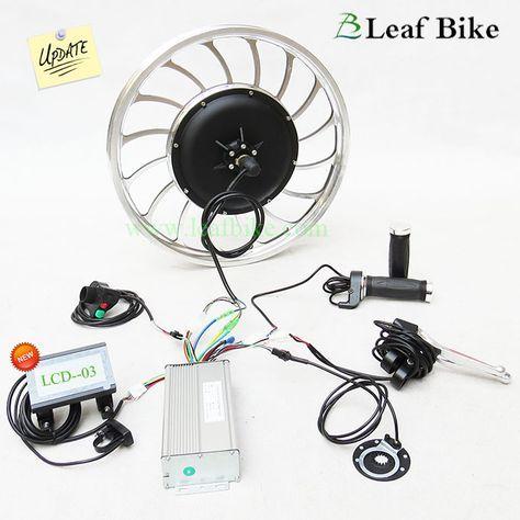 20 inch 36V 750W rear casted hub motor electric bike conversion kit - Leaf Newest Version