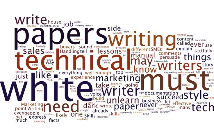 3 lessons tech writers must unlearn to write white papers
