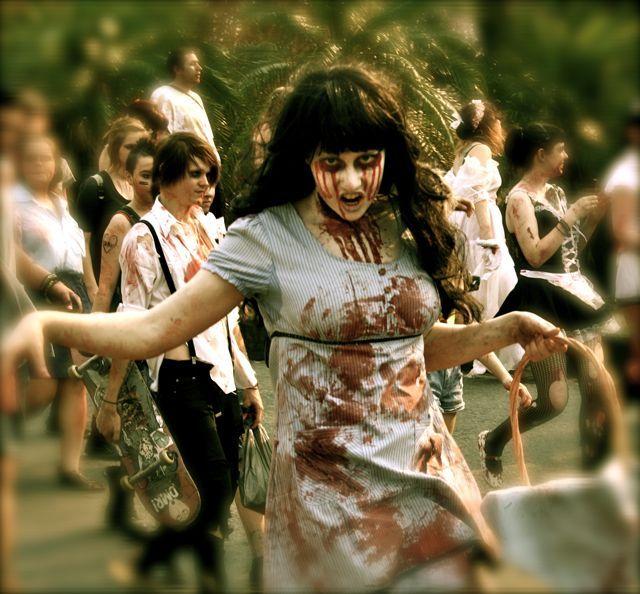 FFAF (Fun For A Fiver) – Zombie Walk Brisbane 2012