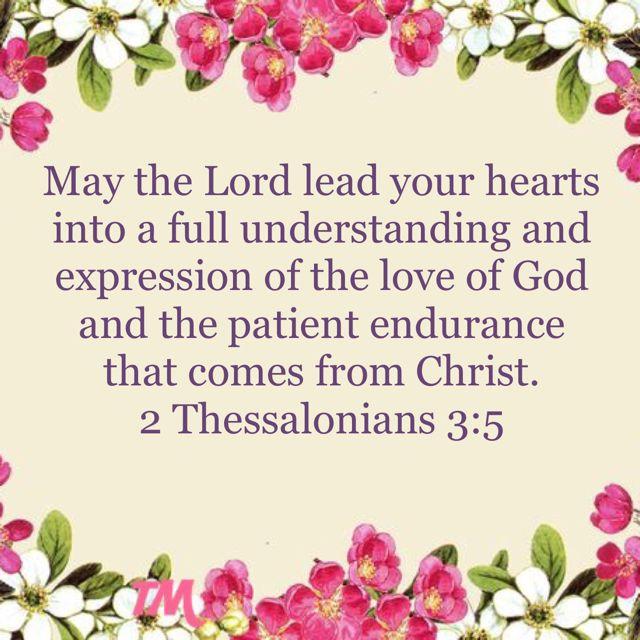 2 Thessalonians 3:5