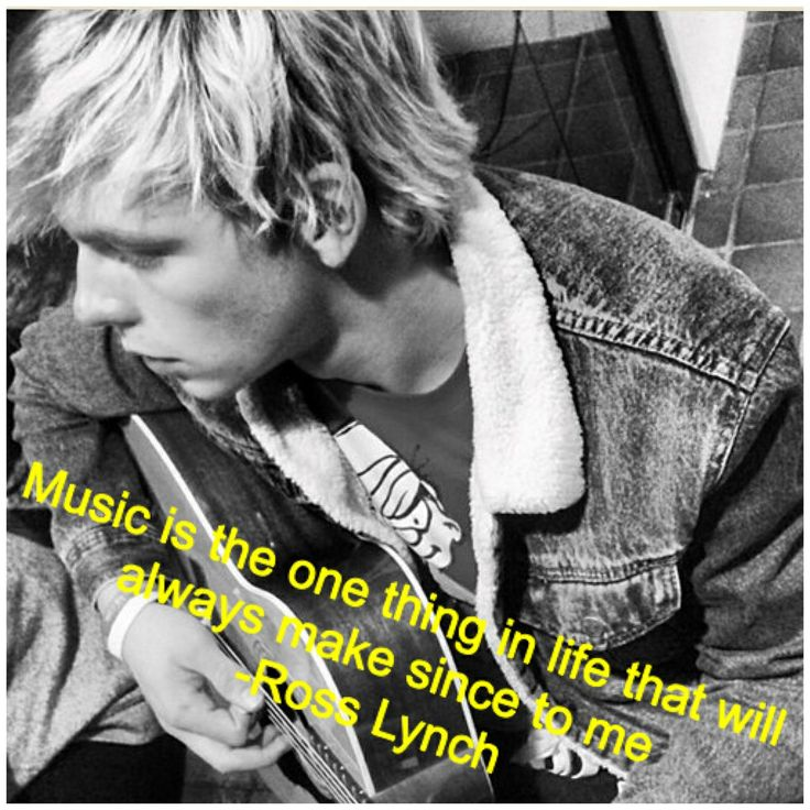 Ross Lynch quote