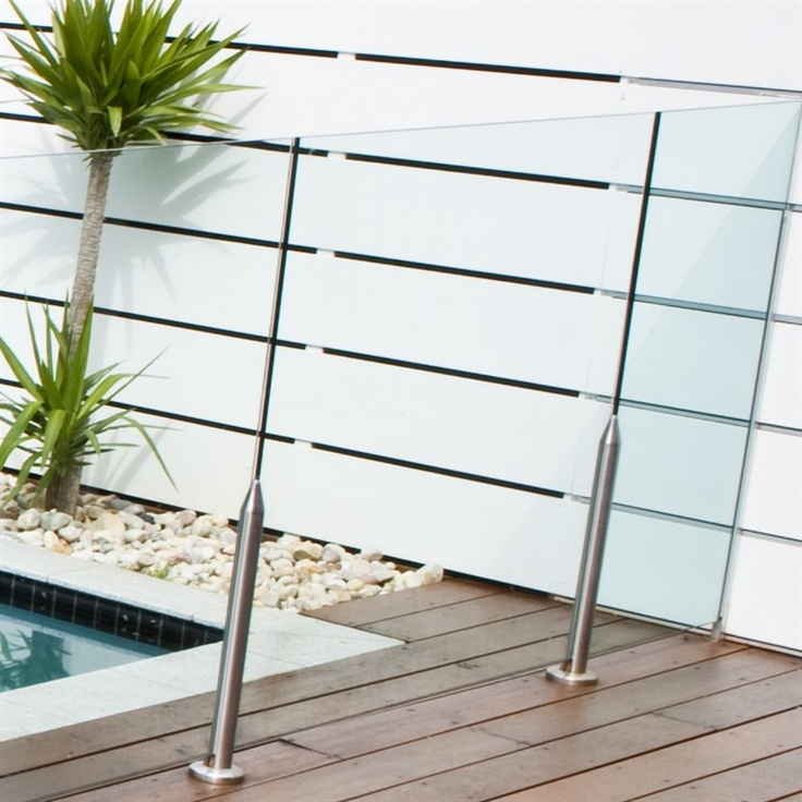 1000 x 1200mm Glass Pool Fencing Panel