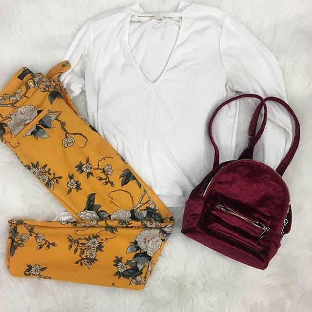 Spring is just around the corner  Come stock up for this upcoming season! This #ootd is available at our Harwood Heights location! | Pants: Zara XS $14 | | Top: Agaci M $5 | | Backpack: Forever 21 $12 | http://ift.tt/2C9cXmO - facebook.com/rlwonderland