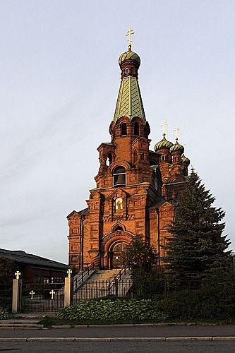 St. Alexander Nevsky and St. Nicholas' Church, Tampere, Finland - Pyhän Aleksanteri Nevskin ja Pyhän Nikolaoksen kirkko, Tampere