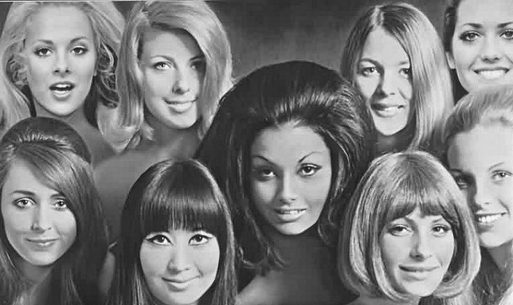 1970s Hair Styles: 101 Best 1960's Hairstyles Images On Pinterest