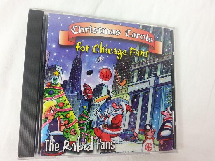 Christmas Carols For Chicago Fans The Rabid Fans CD Music 1998 #Christmas