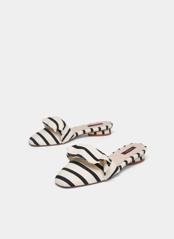Zapatos De MujerUterqüe Primavera Verano Stripes 2018 Colección shrCtdQ