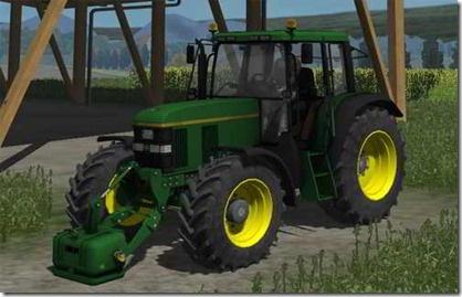 Farming simulator 2011 - johndeere 6610 Mod (trattore)