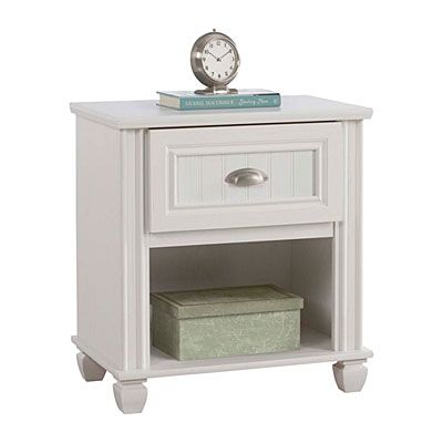 NICOLETTE'S ROOM:  Ameriwood™ Federal White Nightstand at Big Lots.