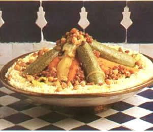 Moroccan couscouss