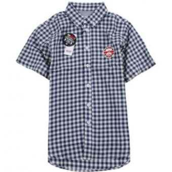 AAPE Bape England Ape Face Gingham Button Up Shirt (Navy) #abathingape  #bape #aape #streetwear #streetfashion #fashion #urbanwear #longsleeves #buttonupshirt
