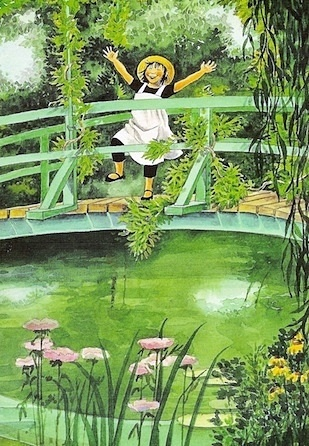 Linnea in Monet's Garden by Lena Anderson