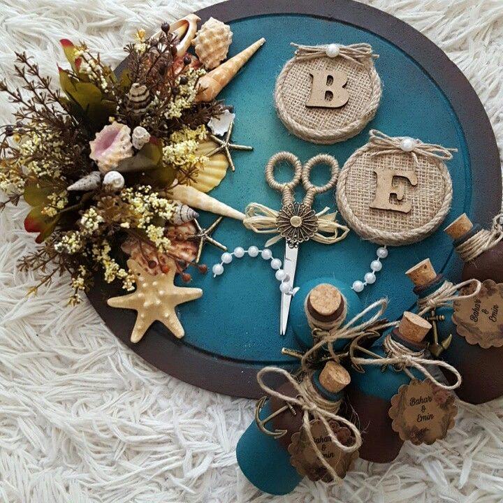 Marine konsept nişan tepsimiz   #kütüktepsi #kütüknişantepsisi #kutuktepsi #rustic #burlap #wedding #engagement #nisanorganizasyonu #soztepsileri #sozhediyelikleri #nisantepsisi #nişantepsisi #yuzukyukseltici #yuzuktepsisi #love #handmade #craft #kurucicek #gelinlik #gelinbuketi #ahsap #agac #nature #vintage #anıdefteri #anı #damatfincani #damatkahvesi #damattepsisi