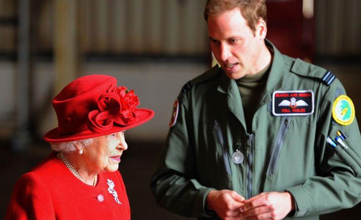 Bijzonder briefje van de Queen aan een jonge prins William te koop